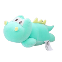 2018 New Design Stuffed Hippo Cute Animal Lying Plush Toy Wholesale