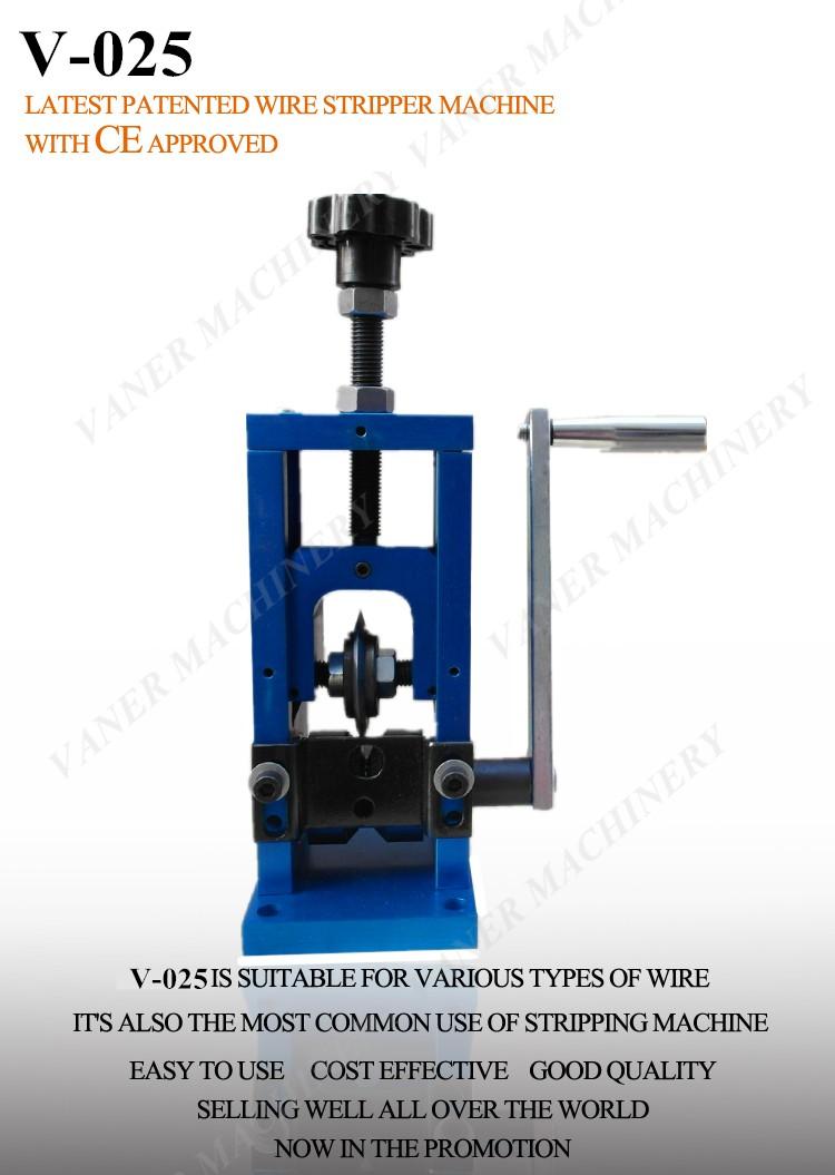 Manual Scrap Copper Cable Wire Peeler And Stripper Machine Manual ...