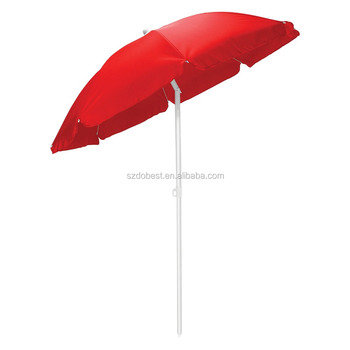 7 5 Commercial Grade Beach Umbrella Wood Steel