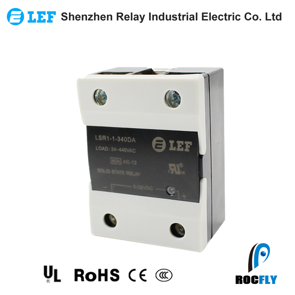 Lef Solid State Relay Single Phase Ssr Dc Ac Switch