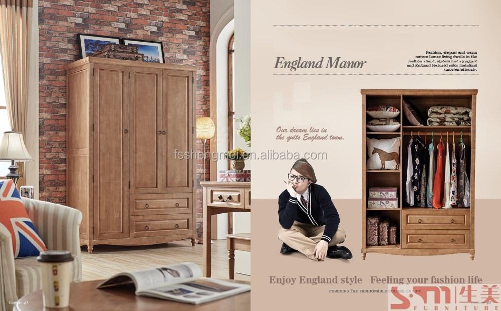 Nieuwe ontwerp hout kleur slaapkamer meubels jongens tieners slaapkamer meubilair sets houten - Tiener slaapkamer kleur ...