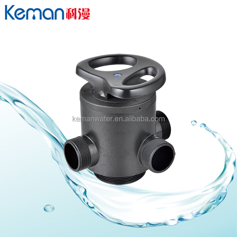 10 Ton manual industrial water filter control valve pre filtration water treatment system