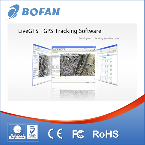 Manufacture!!! Liver GPS tracking software recording while navigation/web based software DEMO.LIVEGTS.COM