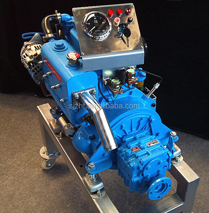Used Small Boat Engines For Sale: Hf-3m78 21hp 3 Cylinder Water Cooled Small Td Marine