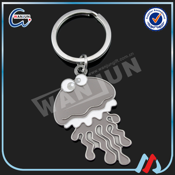 sedex 4p factory direct wholesale cute octopus poland keychain