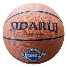 Promotional gift Mini rubber basketball ball