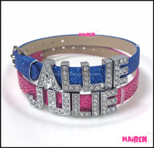 Make Your Own Name Bracelets Supplieranufacturers At Alibaba