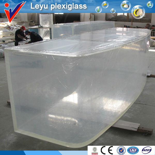 Acrilico plexiglass rettangolo vasca per i pesci acquari o for Vasca per pesci