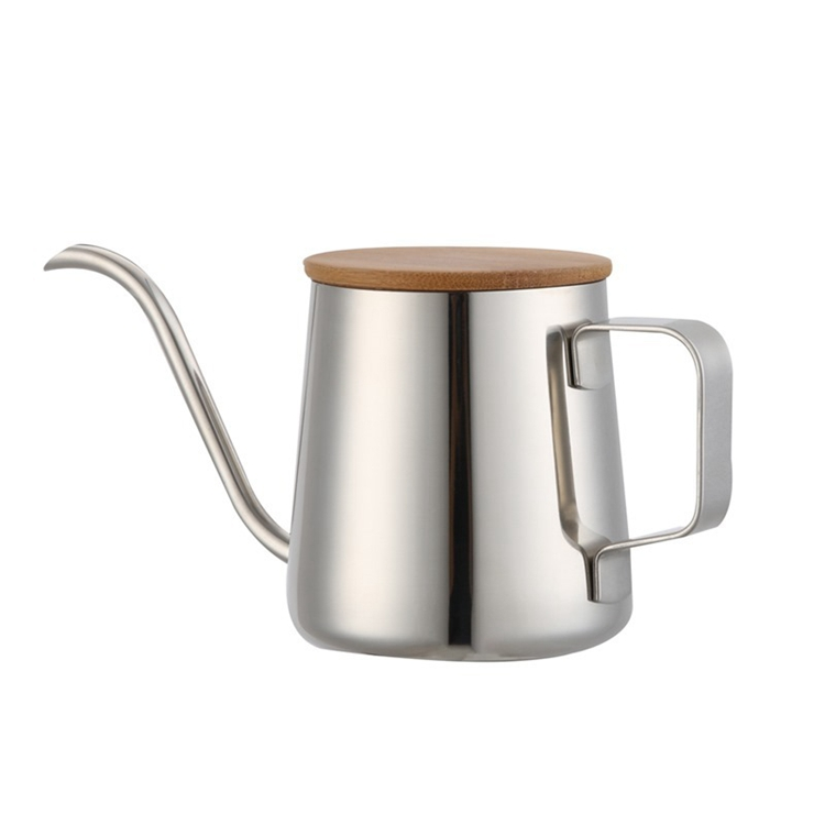 250ml Stainless Steel Gooseneck Coffee Drip Kettle  Pour Over Coffee Tea Drip Kettle