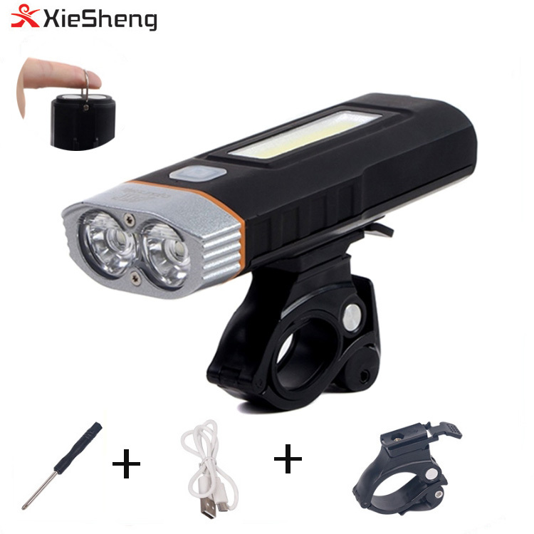 USB charged 1600 lumen XML T6 LED Focus Bike Bicycle Headlight FRONT LIGHT LAMP