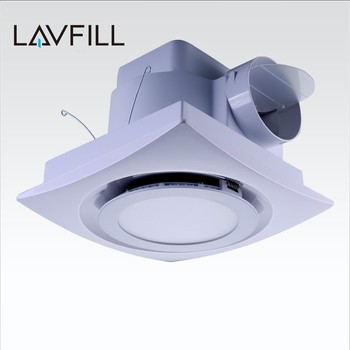 Pipe  Type Exhaust Fan Bathroom Ceiling Exhaust Fan With Led Light Fan With  Led Light