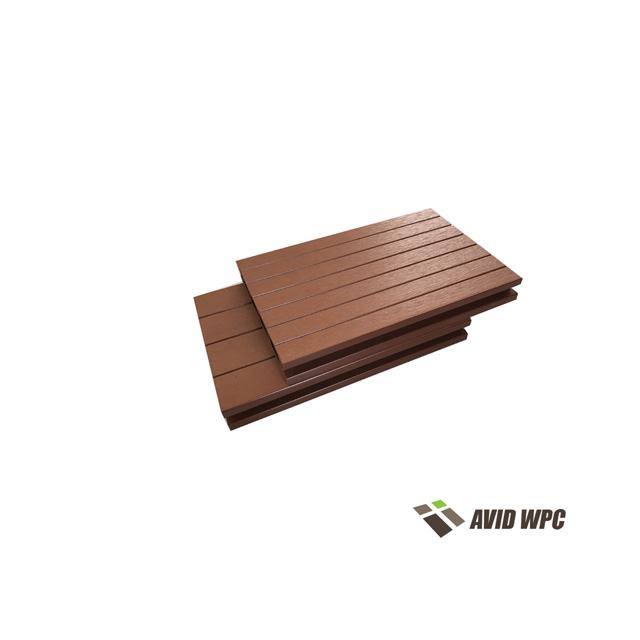 Outdoor wpc composite floor decking with top quality