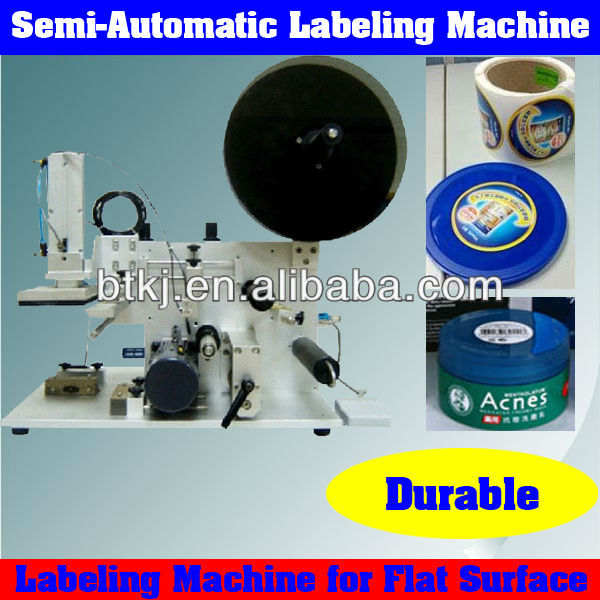 Small Size Portable Desktop Self Adhesive Label Printing Machine for Sale,Semi Automatic Self Adhesive Labeler Machine Suppliers