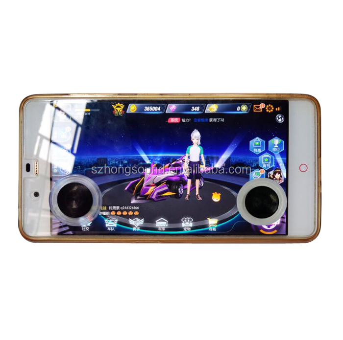 Virtual Analog Stick or Directional Pad Use Arcade Game Mobile Joystick for iOS/Android Games