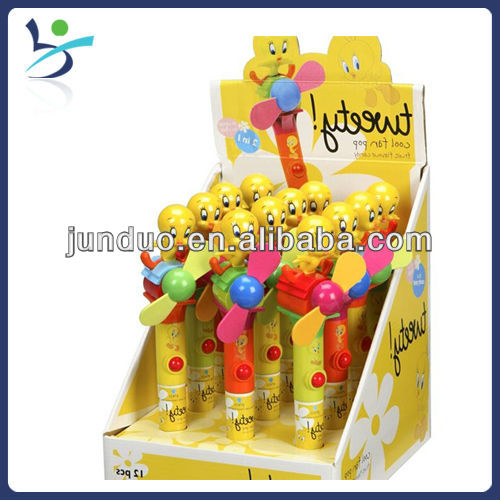 Yellow Duck Candy Toy Fan