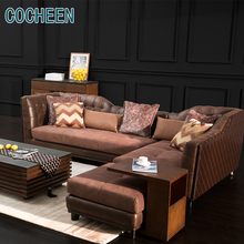 Living room modular sofa set pictures wood sofa furniture