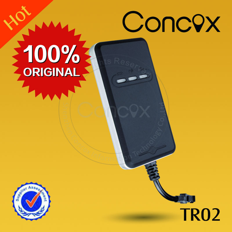 GSM/GPRS/GPS Tracking Device by smart phone Concox hot sell product TR02