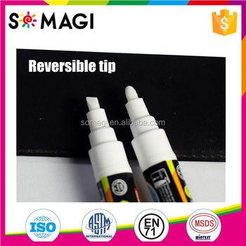 Premium Pen Brands Set Of 8 Color Liquid Chalk Markers Mirror Gl Ink Wipe