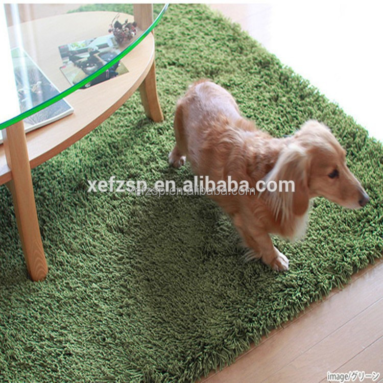 polyester microfiber waterproof dog machine washable carpet rug