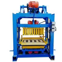 QT4-40 Best Hollow Concrete Blocks Block Making Machine Price Business In Philippines And Nepal