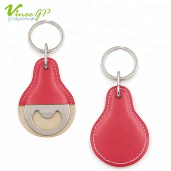 Make Your Own Logo Souvenir gifts keyrings custom leather promotional keychain
