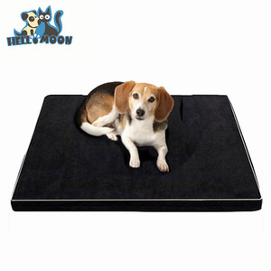 Waterproof Oxford Bottom Dog Beds Orthopedic Mattress Memory Foam For Large Dogs ML/XL