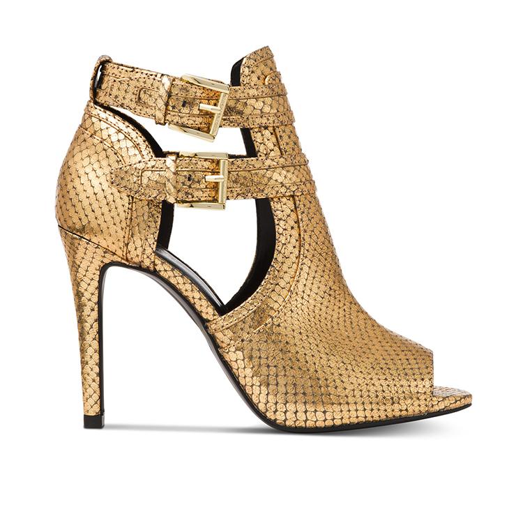 45fbce976dd Ladies Sexy Gold Sandals High Heel