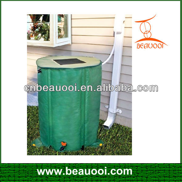 garden PVC collapsible water rain barrel plastic collapsible water barrel