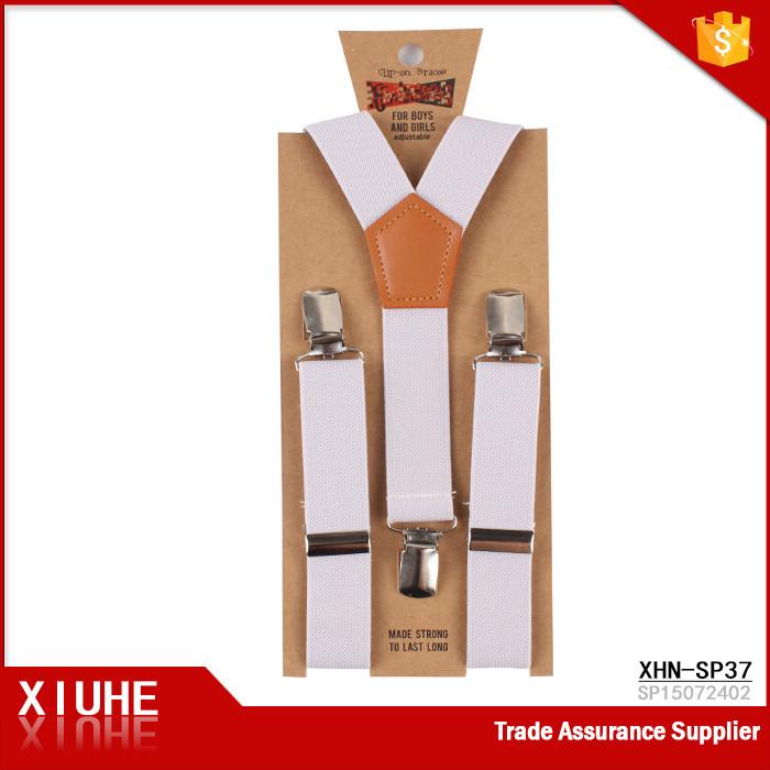 Alibaba Wholesale Holiday Children Suspenders Plain Colour Braces ...