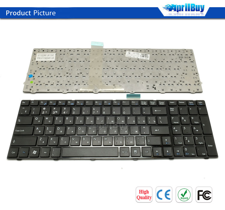 for MSI A6200 EX640 CX620 GX660 CR620 laptop with russian keyboard