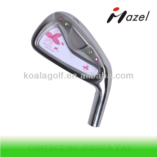 Customized Latest golf club irons,High quality lady golf clubs irons
