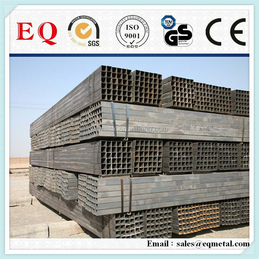 galvanized perforated square tube firm special shaped steel tube din st 52 welded steel tubes