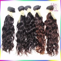 Laotian Real Human Virgin Hair Full Cuticle Remy Hair Extension Water Wave Hair weaving Fast Shipping