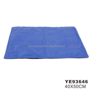 Cool Blue Cooling Pet Dog Cat Puppy Bed Pillow Small Mat Pad Indoor Outdoor