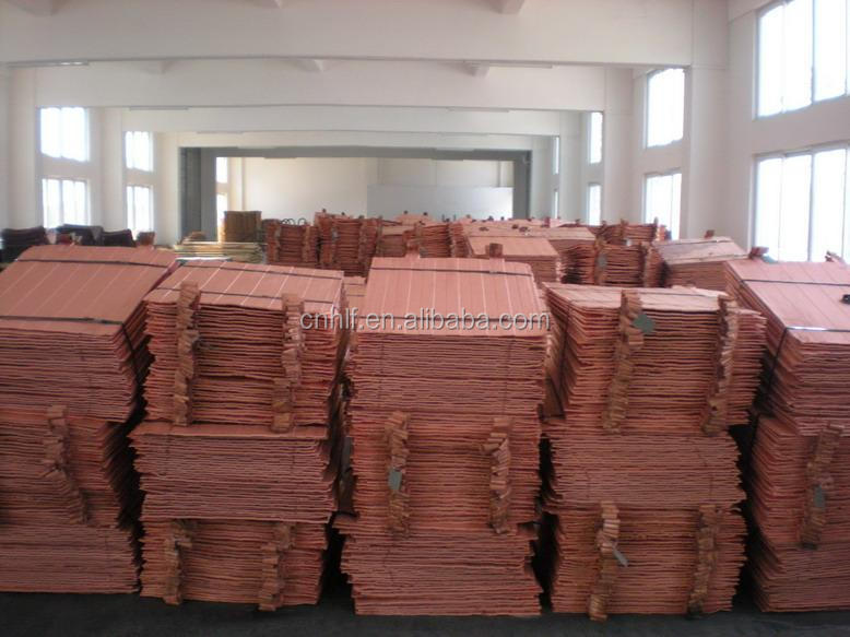 copper Cathode cheap price and lme registered tered grade AAA