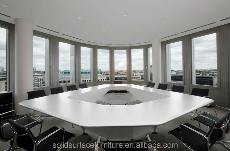 Top End Tell World Produce Best Artificial Stone Conference Table ...