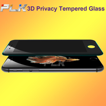 Hot Sale Anti Spy 180 Degree Privacy, Perfect Fit Privacy 9H 3D Tempered Glass For iPhone 6 Plus#