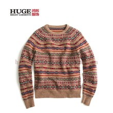 Quality Choice Wholesale Men'S Intarsia Sweater
