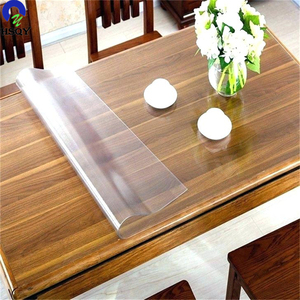 Super Clear PVC Flexible Film/PVC Transparent Table Protector/Super Clear Table Protector