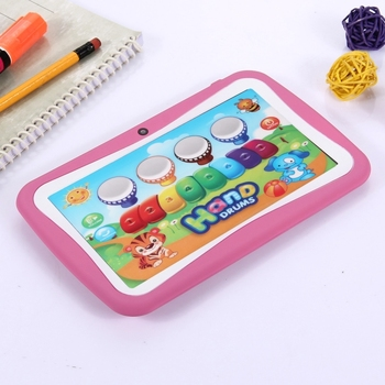 Wholesale Gift for Children 7'' tablet pc android with quad core WiFi dual camera tablet pc for kids