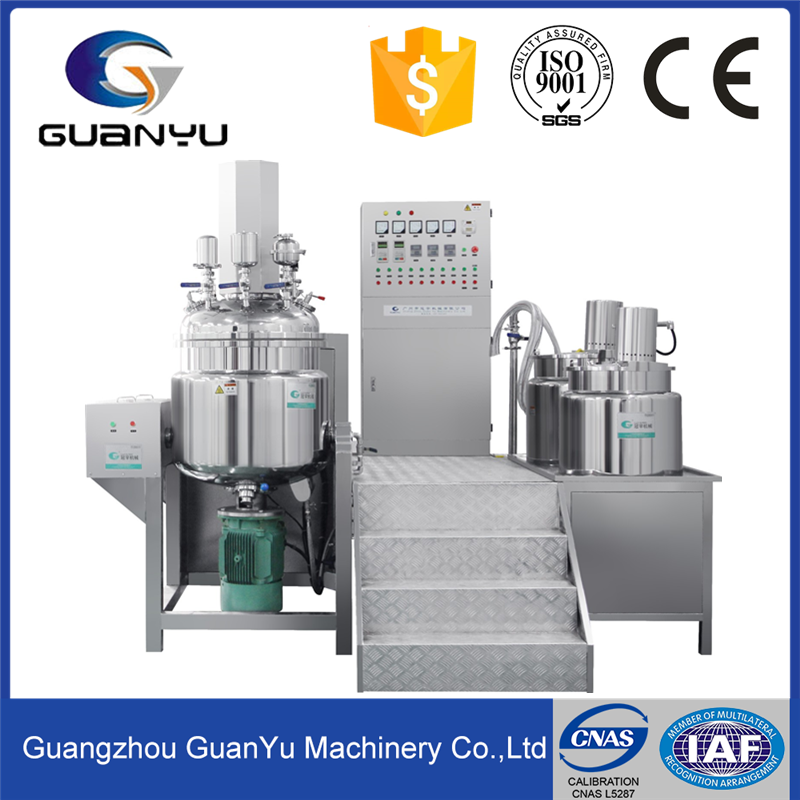 Hydraulic Lifting Vacuum Emulsifying Mixer Machine Pharmaceutical Cream Equipment Cosmetics Manufacturing Equipment
