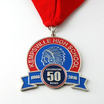 Custom Medal With Ribbon Enamel Medal Award Medals - Buy Custom Medal,Medal  With Ribbon,Award Medals Product on Alibaba com
