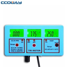 multi function tds meter with backlight orp tds and ph ec machine