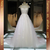 New Style Wedding Dress Suits For Girls A-line Appliqued Cap Sleeve Sweetheart Plus size wedding Dress Patterns