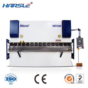 Harsle WC67K Best-Selling small hydraulic shear and press brake cutting machines