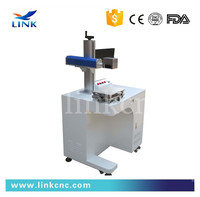 10w / 20W / 30w /50w Jewelry / ring / pipe / hardware / plastic nonmetal stainless steel laser printing machine