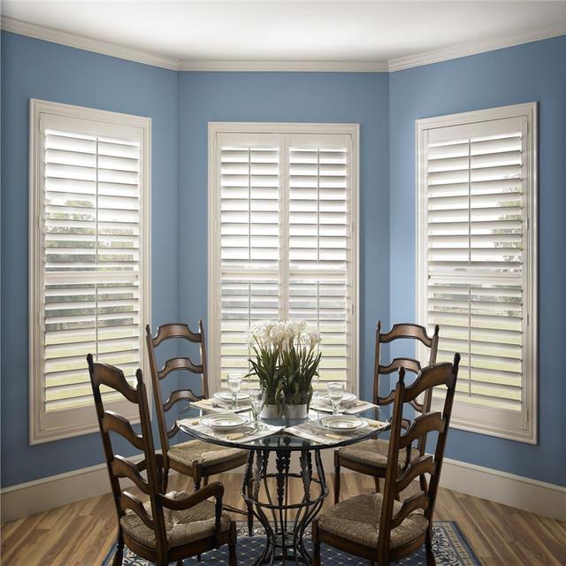 Adjustable Louver MDF Wooden Kitchen Shutters