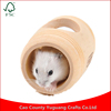 Custom Pet House Natural Pet Supplies for Hamster Barrel Shaped Hamster Wooden House