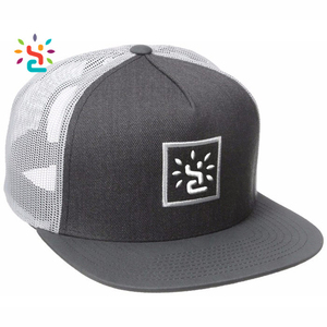 12357267f Wholesale Mesh Trucker New Style Snapback Caps And organic Hats Custom  embroidery woven logo baseball cap