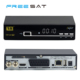 Digital dvb-s2 satellite receiver no dish with sim card, fta satellite receiver iptv box for 3g wifi internet sharing